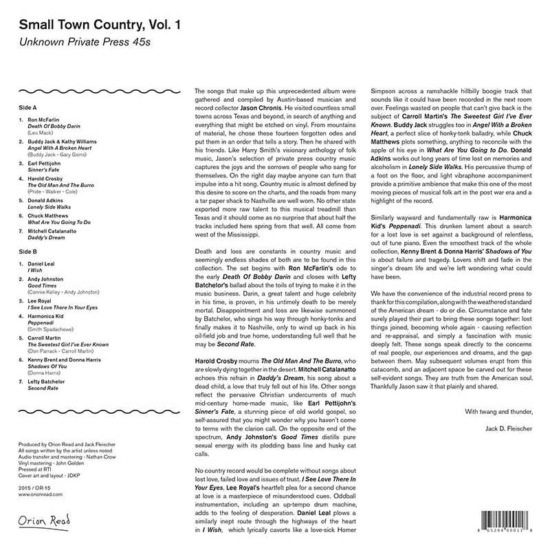 - Small Town Country – Vol. 1